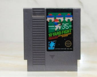Vintage Nintendo Game 10-Yard Fight 1983