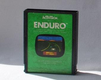 Vintage Atari 2600 Game, Enduro, Activision, 1983