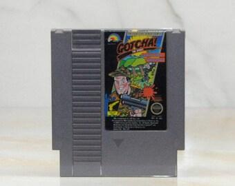 Vintage Nintendo Game Gotcha 1987