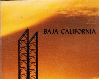 Vintage AAA Travel Guide Baja California 1975 Sights, Accommodations, Destinations