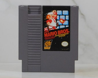 Vintage Nintendo Game Super Mario Bros, 1985