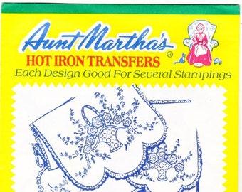 Vintage Aunt Martha's Hot Iron Transfers 3339, Bedroom Ensemble RETIRED