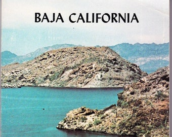 Vintage AAA Travel Guide Baja California 1983 Sights, Accommodations, Destinations