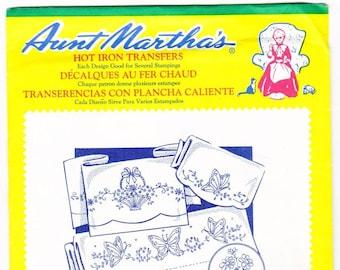 Aunt Martha's Hot Iron Transfers, Decorative Linens #3751