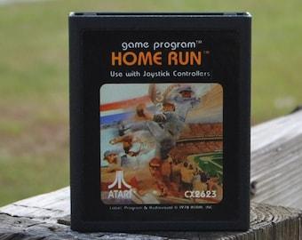 Vintage Atari 2600 Game, Home Run, Atari, 1978