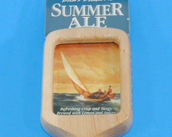 Beer Tap Handle Sam Adams Seasonal Wooden Pull Tap Handle 11.5""