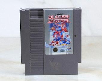 Vintage Nintendo Game Blades Of Steel Konami 1987