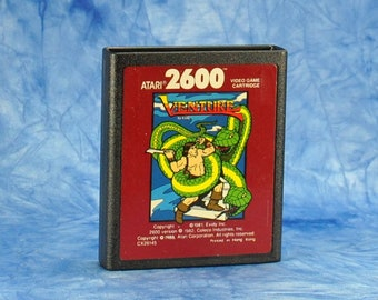 Vintage Atari 2600 Game, Venture, Exidy, 1981