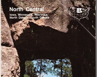 Vintage AAA Travel Guide North Central US 1987 Sights, Accommodations, Destinations