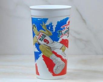 Vintage Coca-Cola, Basketball Cup, Souvenir Cup, Basketball, Plastic Cup, Coca-Cola, Coke Collectible, Coke Advertising, Dream Team II