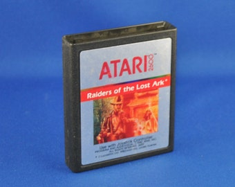 Vintage Atari 2600 Game, Raiders Of The Lost Ark, Atari, 1982