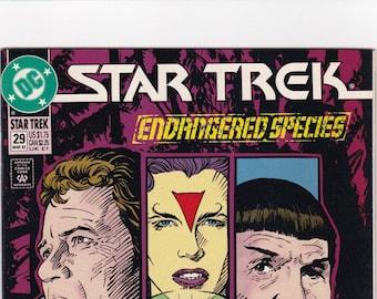 Vintage Comic Book, Star Trek Original Series, Number 29, April 1992, DC Comics