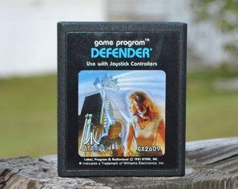 Vintage Atari 2600 Game, Defender, Atari, 1981