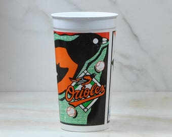 Vintage Coca-Cola Baseball Souvenir Cup Baltimore Orioles from Aramark, 1996