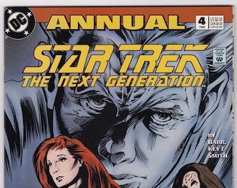 Star Trek Comic Book, Next Generation, Number 4 Annual 1993, DC Comics
