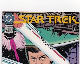 Vintage Star Trek Comic Book, Star Trek Original Series, Number 59, April 1994, DC Comics