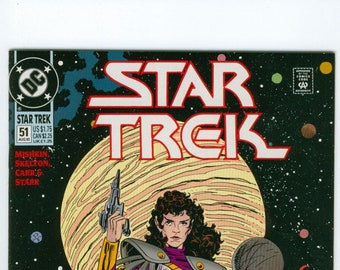 Star Trek Number 51 August DC Comics 1993