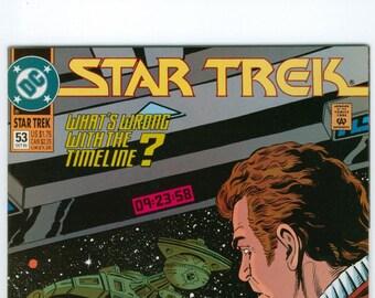 Vintage Star Trek Comic Book, Star Trek Original Series, Number 53, October 1993, DC Comics
