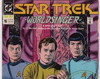 Vintage Star Trek Original Series Comic Book No 16, Feb 1991