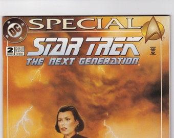 Star Trek Comic Book, Next Generation, Number 2 Summer 1989, DC Comics