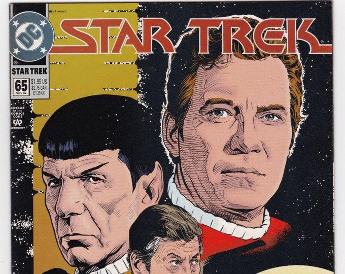 Featured listing image: Vintage Star Trek Comic Book, Star Trek Original Series, Number 65, November 1995, DC Comics
