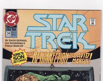 Star Trek Comic Book, Original Series, Number 32 April 1992, DC Comics