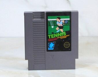 Vintage Nintendo Game, Tennis, Nintendo 1988