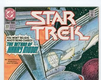 Star Trek Comic Book, Original Series, Number 22 August 1991, DC Comics