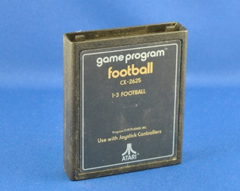 Vintage Atari 2600 Game, Football, Atari, 1979