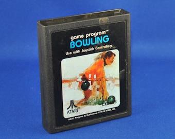 Vintage Atari 2600 Game, Bowling, Atari, 1979