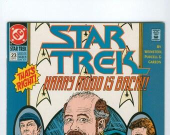Vintage Star Trek Comic Book, Star Trek Original Series, Number23, September 1991, DC Comics