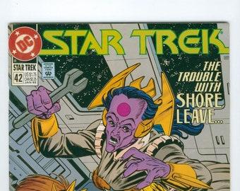 Vintage Star Trek Comic Book, Star Trek Original Series, Number 42, January 1993, DC Comics