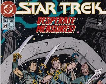 Vintage Star Trek Comic Book, Star Trek Original Series, Number 54, November 1993, DC Comics
