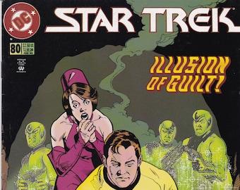 Vintage Star Trek Comic Book, Star Trek Original Series, Number 80, February 1996, DC Comics