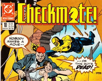 Vintage Comic Book, Checkmate, Number 10, Winter 1988, DC Comics