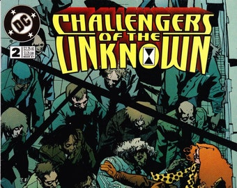 Challengers Of The Unknown Comic Book Number 2 March, DC Comics