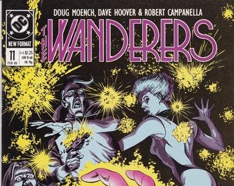 Vintage Comic Book, Wanderers, Number 11, February 1989, DC Comics