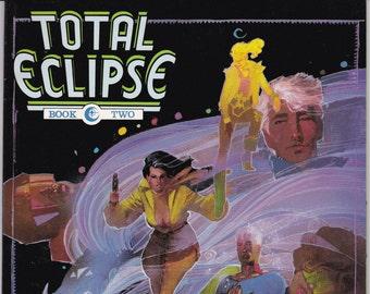 Vintage Comic Book, Total Eclipse, Number 2, 1988, Eclipse Comics