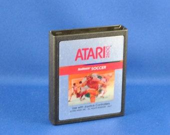 Vintage Atari 2600 Game, Realsports Soccer, Atari, 1978
