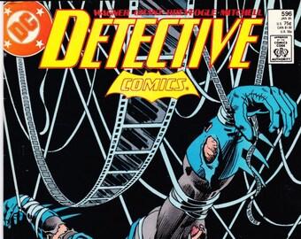 Vintage Comic Book, Detective Comics, Number 596, January 1989, DC Comics