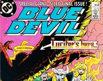 The Blue Devil Comic Book Number 31 December 1986