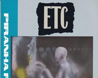 Vintage Comic Book, ETC, Number 1, 1989, Piranha Press Comics