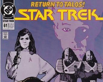 Vintage Star Trek Comic Book, Star Trek Original Series, Number 61, July 1994, DC Comics