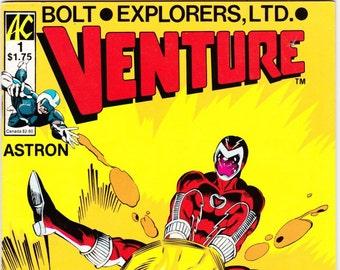 Vintage Comic Book, Venture, Number 1, 1987, AC Comics