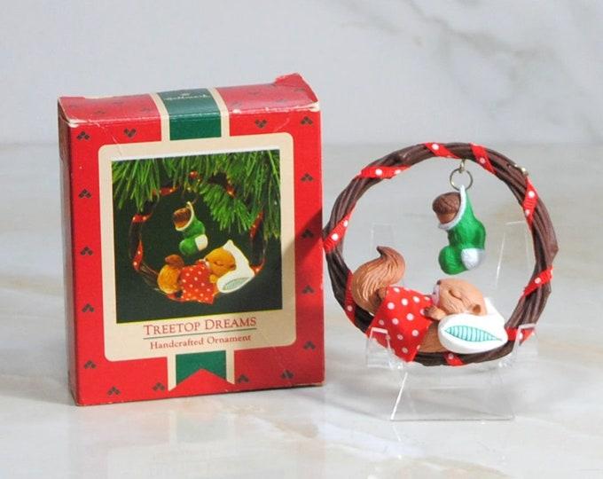 Featured listing image: Vintage Hallmark Ornament Treetop Dreams, 1987