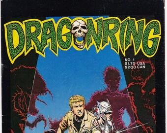 Vintage Comic Book, Dragonring, Volume 1 Number 1, 1986, Aircel Publishing