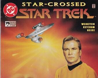 Vintage Star Trek Comic Book, Star Trek Original Series, Number 75, September 1995, DC Comics