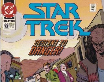 Vintage Star Trek Comic Book, Star Trek Original Series, Number 69, March 1995, DC Comics