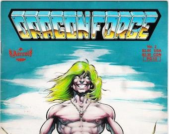 Vintage Comic Book, DragonForce, Number 2, 1988, Aircel Publishing