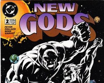 Vintage Comic Book, New Gods, 4th Series, Number 2, November 1995, DC Comics